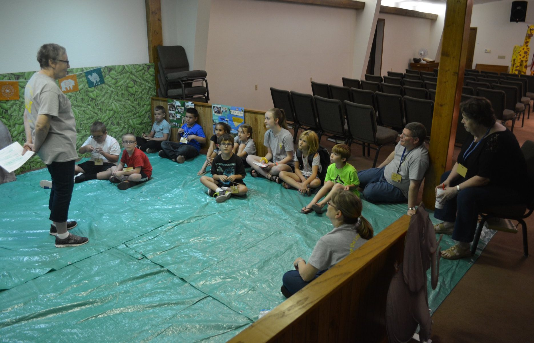 Missions moments at VBS