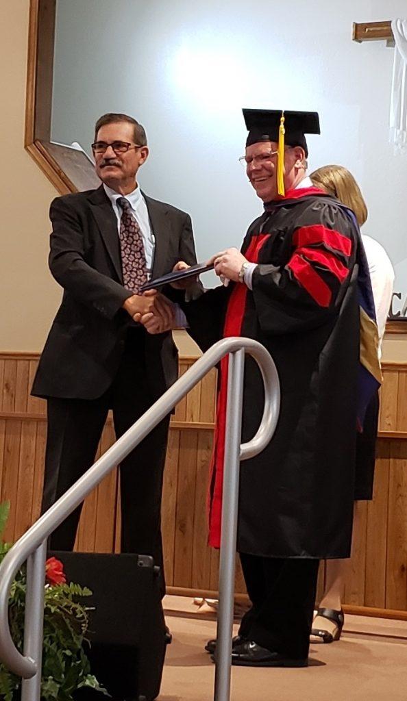 Surprise Graduation for Jay Hale