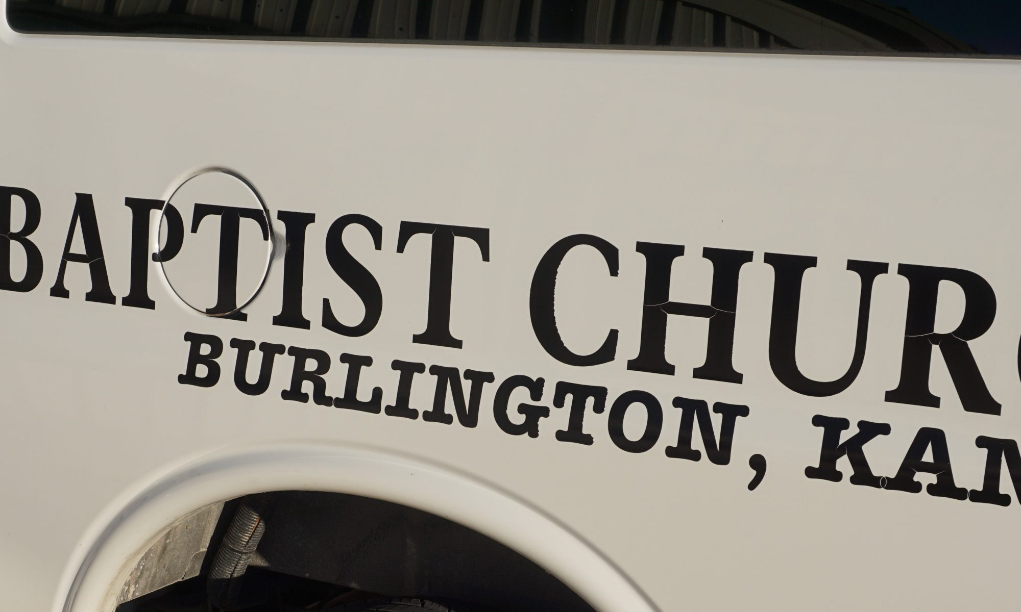 Our Name on Our Van